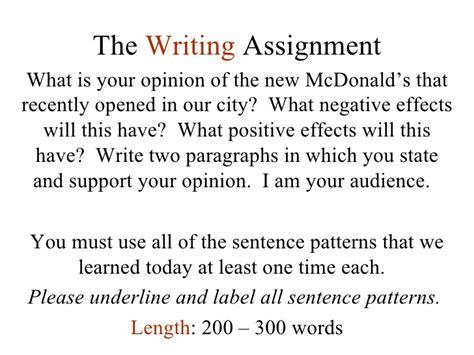 sentence pattern labeler lesson 3 sentence expansion