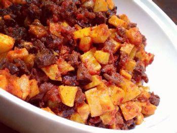 cara membuat kentang goreng berempah resep sambal goreng kentang praktis sederhana bahan