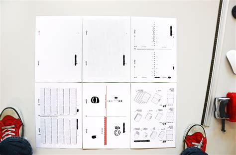 Layout Planner re use the diy notebook and diary long life to your