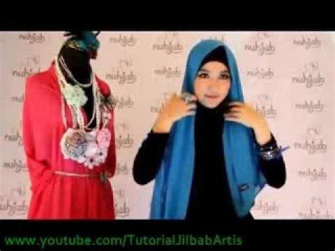 tutorial jilbab pashmina sifon youtube tutorial hijab ps2 plain shawl sifon cyan ala nuhijab 1
