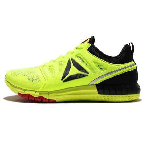 Reebok Zprint 3d Trainer reebok zprint 3d yellow black mens running shoes sneakers