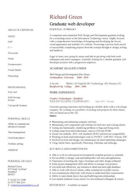 graduate cv template word best photos of graduate curriculum vitae template word