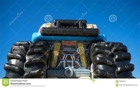 childrens monster truck videos childrens inflatable monster truck stock photo image