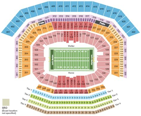 49ers stadium seating view san francisco 49ers tickets 49ers tickets 49er tickets
