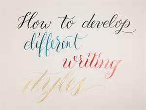different essay styles how to develop different writing styles lettering illustration bausenhardt