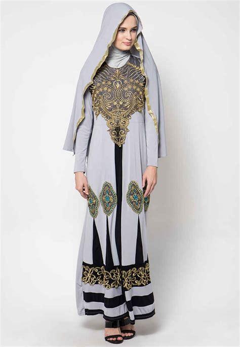 Gamis Remaja Yang Unik model baju gamis batik kombinasi terbaru desain unik