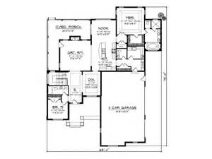 Empty Nester Floor Plans by Empty Nester Home Plans Traditional Empty Nester House
