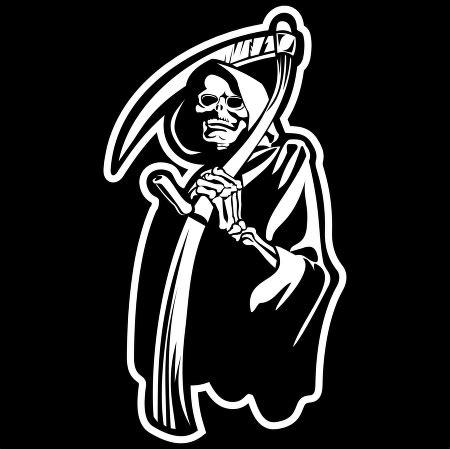 Kaos Row Records Black Y death logo vector in eps vector format