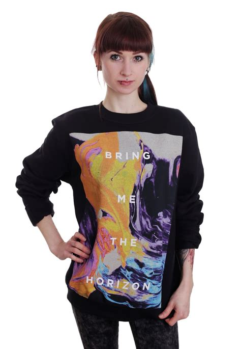 Sweater Bring Me The Horizon Redmerch bring me the horizon painted sweater impericon nl