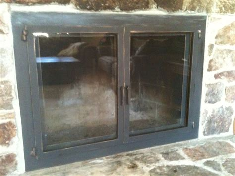 buy made custom fireplace doors made to order from