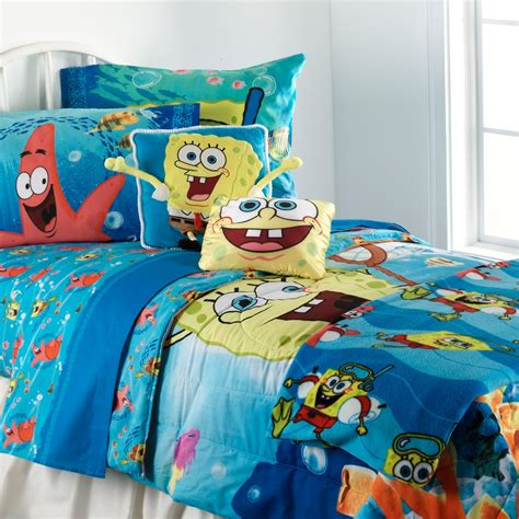 spongebob squarepants bedroom set spongebob squarepants sheet set