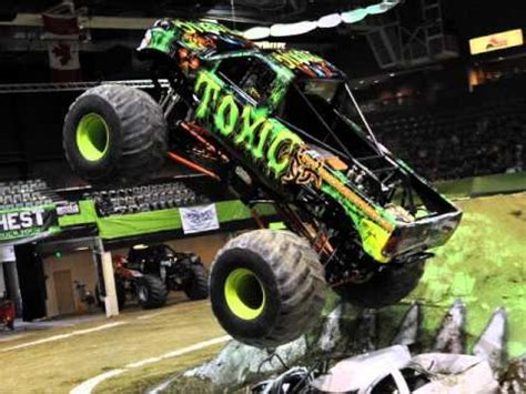 monster truck videos with music toxic theme song toughest monster truck tour theme youtube