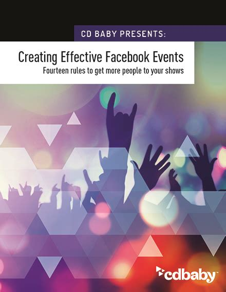 10 songs to help you get your design on how to use facebook events to get more people to your shows