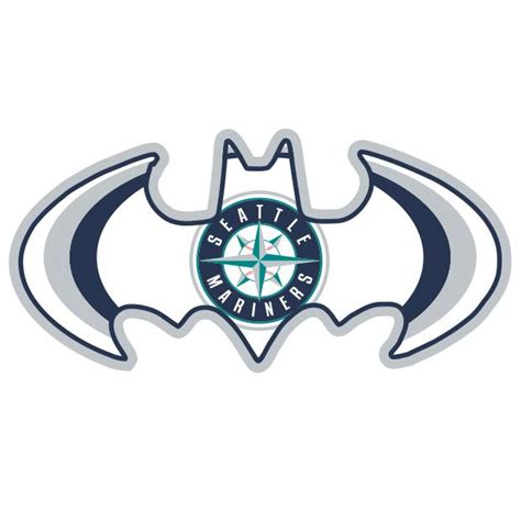 seattle transfer color seattle mariners batman logo iron on transfers 2 00