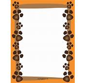 The Gallery For  &gt Dog Paw Border