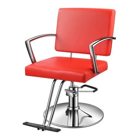 baasha hair salon chair red  hydraulic pump red salon chair  headrest hydraulic