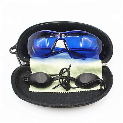 2 Colors Eye Protection Protective Safety Goggles Glasses Work ipl safety glasses eye protection laser safety goggles light patient protective e