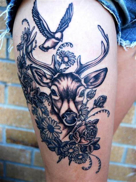 animal tattoo designs tumblr 20 tatuagens inspiradoras de cervos