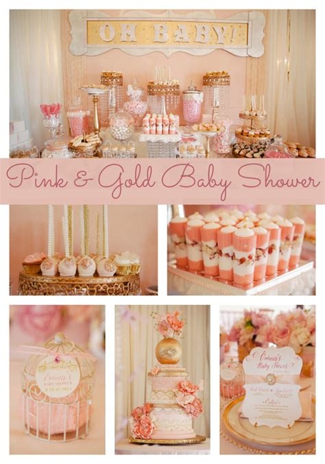 Pink And Gold Baby Shower by Pink And Gold Baby Shower