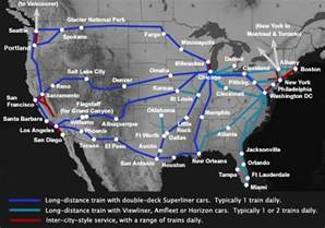 Amtrak Train Map by Gallery For Gt Amtrak Train Routes