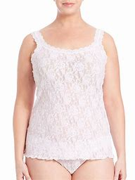 Image result for plus-size lace camisoles