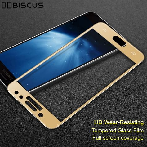 Tempered Glass Samsung Galaxy J7 Pro Cover 1 tempered glass screen cover protector for samsung