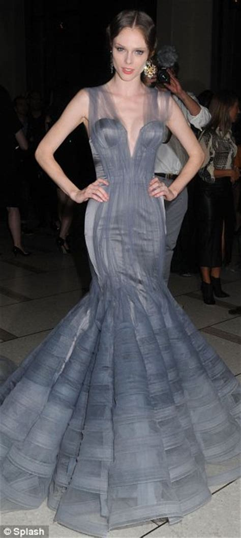 Catwalk To Carpet Beyonce Knowles In Zac Posen by New York Fashion Week 2011 Coco Rocha Steals The Show At