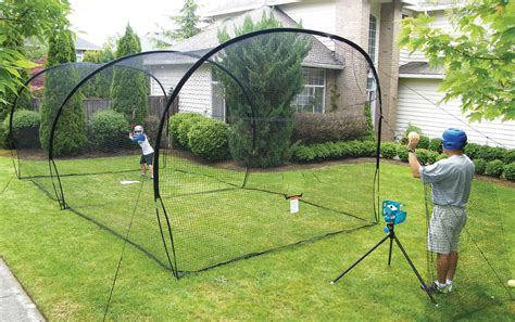 batting cages for backyard backyard batting cage dimensions home outdoor decoration