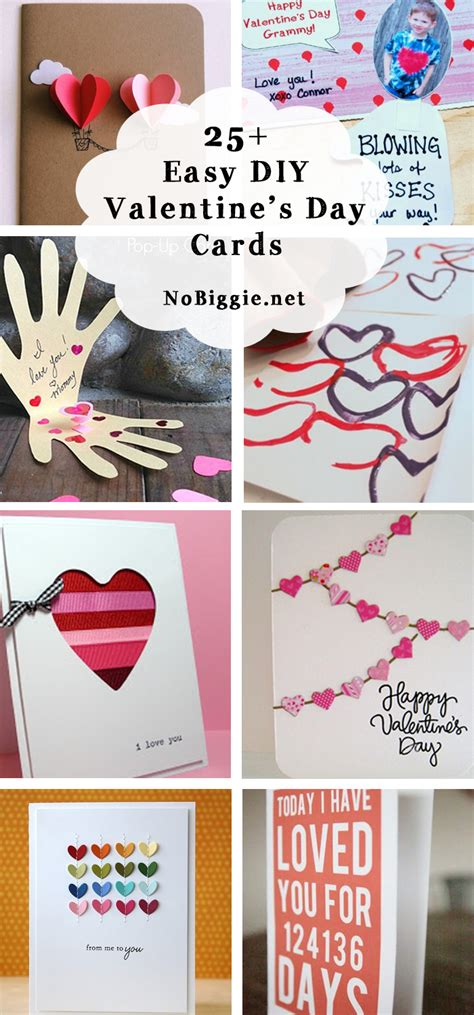 easy to make cards for 25 easy diy s day cards