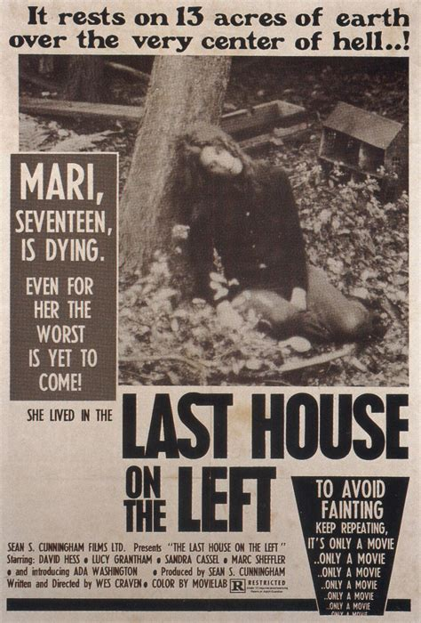 the last house on the left 1972 horror sci fi exploitation posters