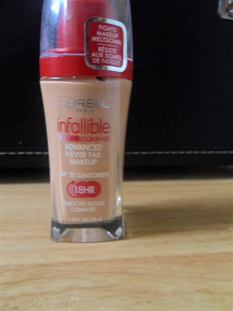 L Oreal Infallible Liquid Foundation l oreal infallible advanced never fail makeup foundation