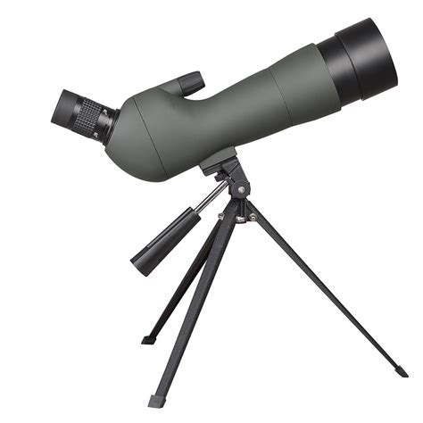 angled 20 60x60mm zoom spotting scope bird watching