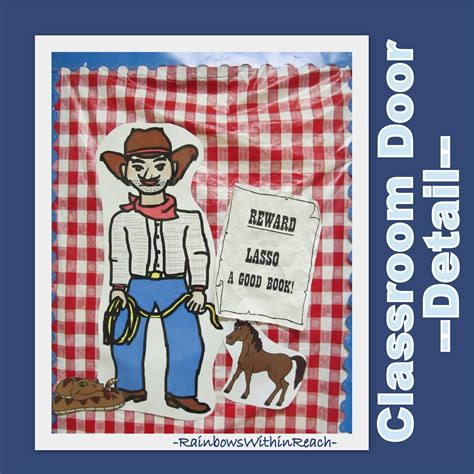 Cowboy Door Decorations by Www Rainbowswithinreach