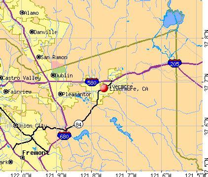map of livermore california livermore california map