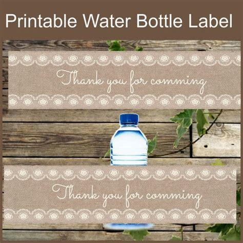 diy water bottle labels template 135 best images about planning on