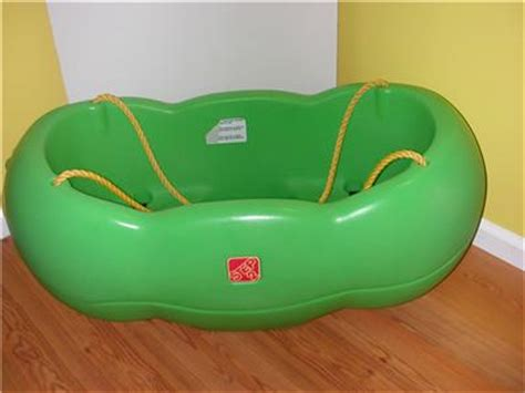 step 2 double swing step 2 caterpillar double twin baby swing for two ebay