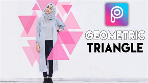 picsart ios tutorial how to make geometric triangle in picsart android and ios