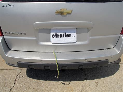 chevy trailblazer trailer light adapter trailer wiring harness installation 2006 chevrolet html