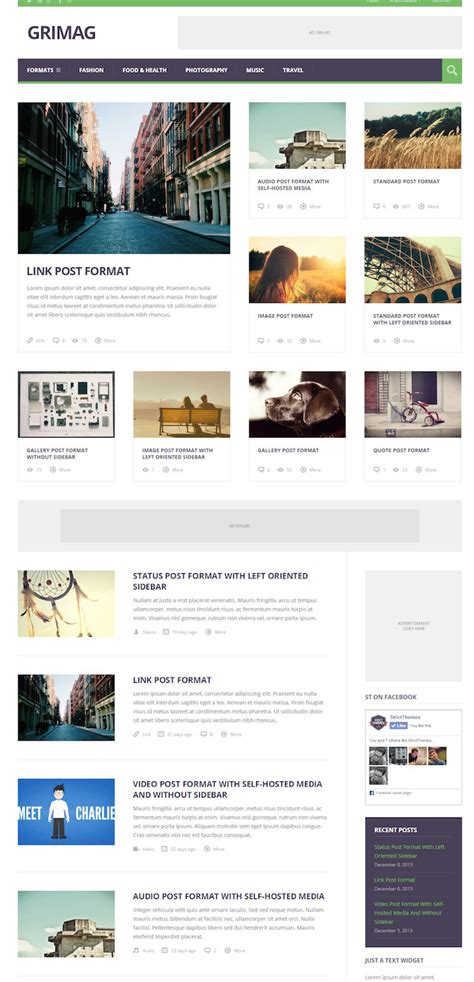 wordpress templates for advertising 10 best wordpress themes with advertising space