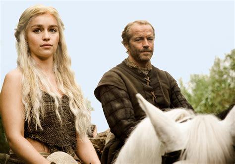 game of thrones daenerys targaryen and jorah mormont game of thrones