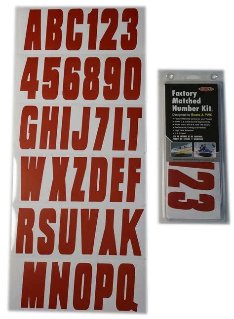 boat registration lettering size red boat lettering registration numbers decals 350
