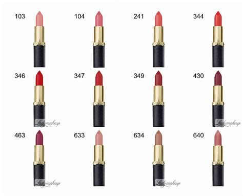 L Oreal Color Riche Matte l or 233 al color riche matte shop 62 39 z