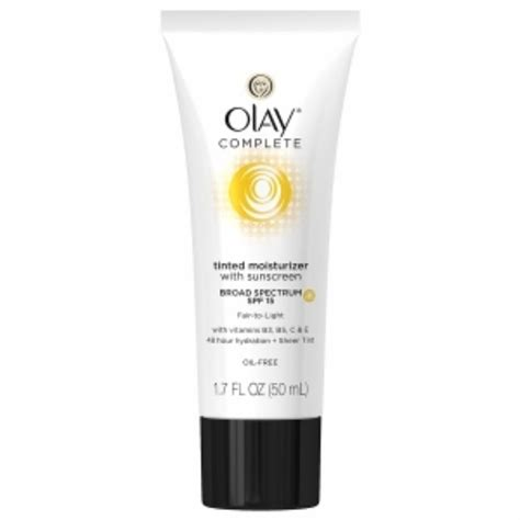 Olay Spf 24 olay complete tinted moisturizer with sunscreen broad