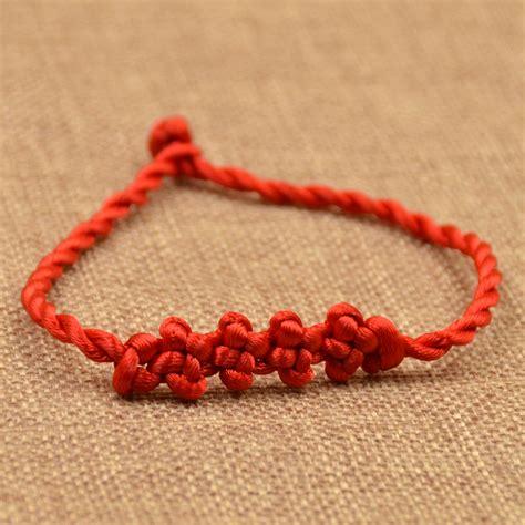 Handmade Cord Bracelets - braided lucky string rope cord bracelet handmade