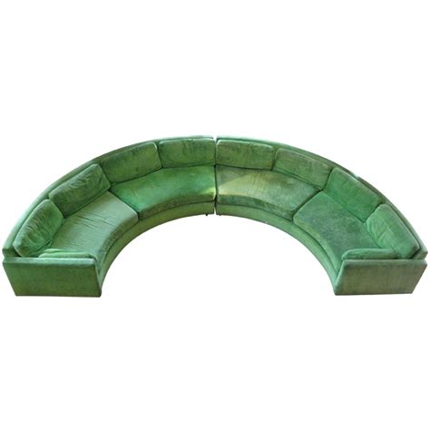 half circle couch keep stylish and stunning only with a piece of half circle