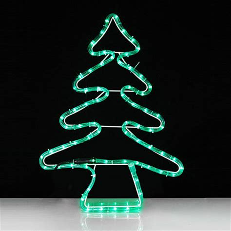 christmas tree led rope light 702274 qvcuk com