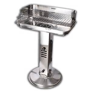 pedestal charcoal grill pedestal bbq grill stainless steel charcoal grill