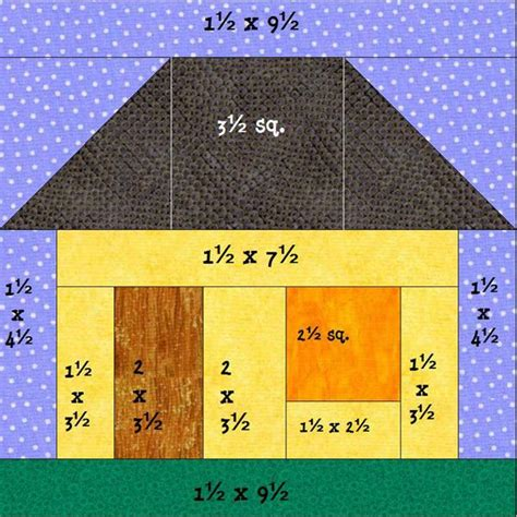 House Quilts, Houses, Quilt Blocks   Picmia