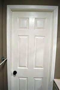 White Door Trim by Benjamin Northern Cliffs Lemon Grove Avenue