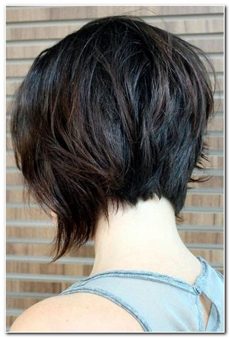 hair short in front long inback bob haircut longer front shorter back haircuts models ideas